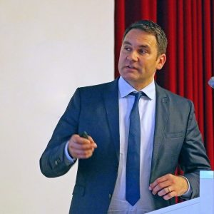 Referent Christian Westendorf Vortrag