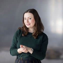 Speakerin Milena Glimbovski