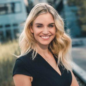 Moderatorin Miriam Rickli